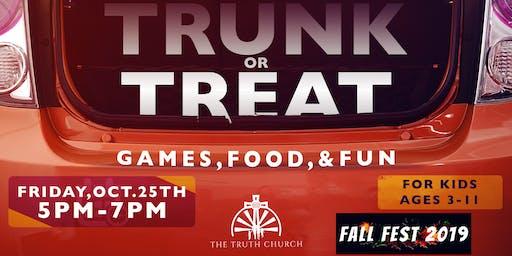 Fall Fest 2019: Trunk or Treat