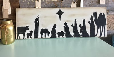 Nativity Board