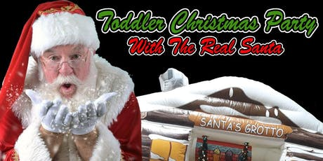 Toddler Christmas Party With The Real Santa, Soft Play & More! tickets