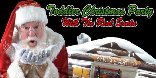 Toddler Christmas Party With The Real Santa, Soft Play & More!