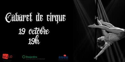 Cabaret de cirque - 19 octobre 2019