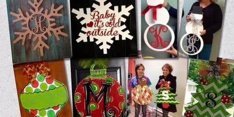 Winter/Christmas Wooden Cut Outs  tickets