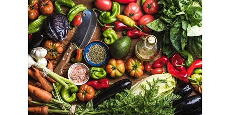 Healthy Vegetarian and Vegan Living: Chef Olive and Nutrition Consultant Lisa (Berkeley) (05-17-2020 starts at 5:00 PM) tickets