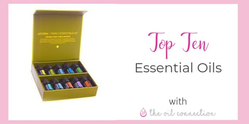 Top Ten Essential Oils