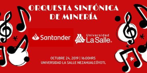 Concierto Orquesta Sinfónica de Minería La Salle Nezahualcóyotl