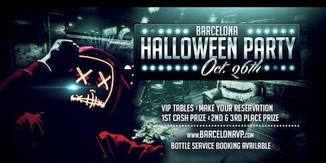 Barcelona Halloween Bash tickets