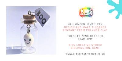 Halloween Horror Jewellery Making - Children\