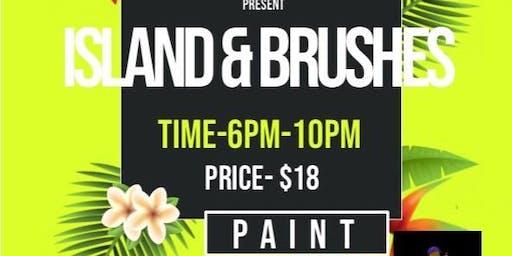 Island & Brushes