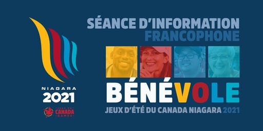 Séance d'information  sur les Jeux d'été du Canada Niagara 2021