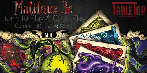 Malifaux Open Play/Learn to Play