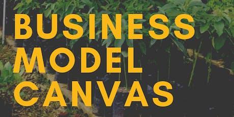 Business Model Canvas para Agricultores y Agro-Negocios  (Taller 3 de 4) tickets
