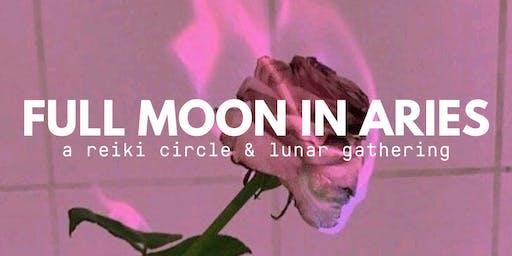 Full Moon in Aries | A Reiki Circle + Lunar Gathering