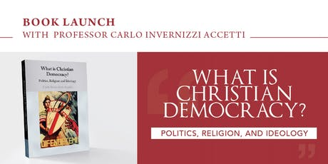 Book Launch with  Professor Carlo Invernizzi Accetti tickets