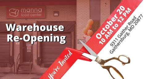 Warehouse Grand Re-Opening