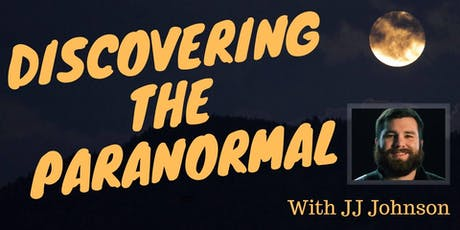 Discovering the Paranormal tickets