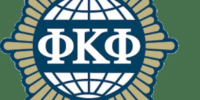Phi Kappa Phi Induction Ceremony