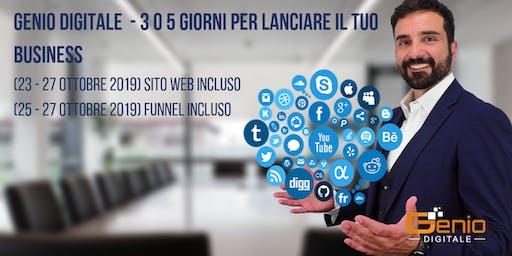 Genio Digitale - Il primo evento sul Marketing Automatico a Roma (Landing, sito e strategia garantiti)