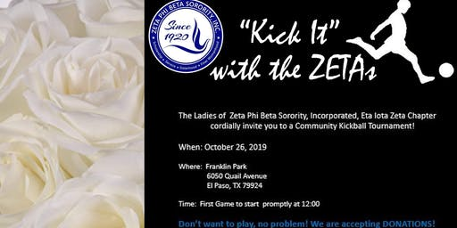 Kick It With The ZETAs