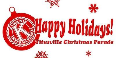 2019, December 14, Titusville Christmas Parade Registration/Rules/Info