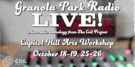Granola Park Radio LIVE! tickets