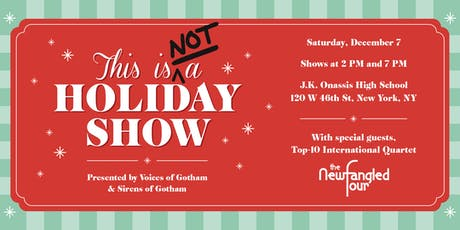 This is (NOT) a Holiday Show tickets