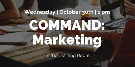 Command: Marketing  tickets
