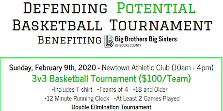 3 vs 3 Basketball Tournament - Benefiting Big Brothers Big Sisters tickets