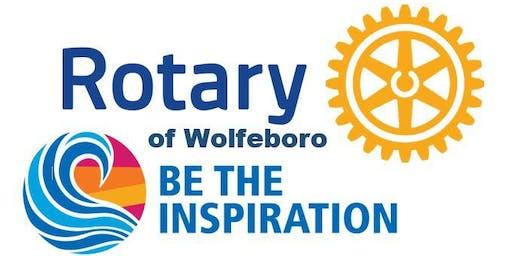 Rotary of Wolfeboro Hurricane Dorian Charity Dinner
