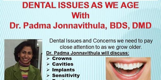 Free Lecture: Dental Issues as We Age