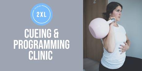 Training2XL Cueing & Programming Clinic HALIFAX EDITION tickets
