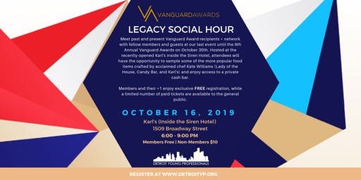 Vanguard Legacy Social Hour