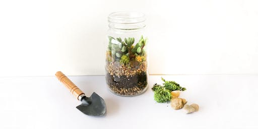 Jar Terrarium Workshop