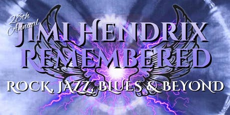 Jimi Hendrix Remembered ~ 28th Annual tickets