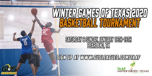 Winter Games of Texas 2020 - Men's Basketball Tournament