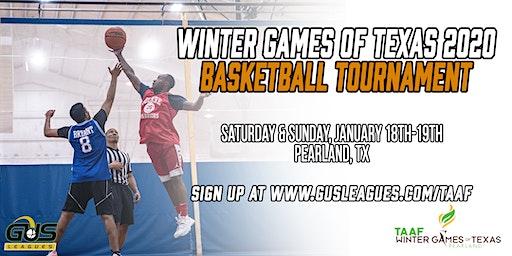 Winter Games of Texas 2020 - Men's Basketball Tournament
