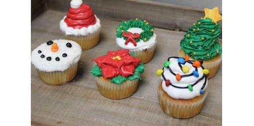 Holiday Cupcake Decorating Class (2019-12-16 starts at 6:30 PM)
