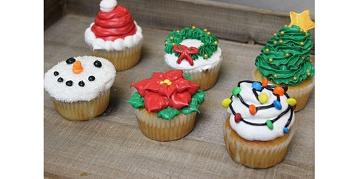 Holiday Cupcake Decorating Class (12-16-2019 starts at 6:30 PM)
