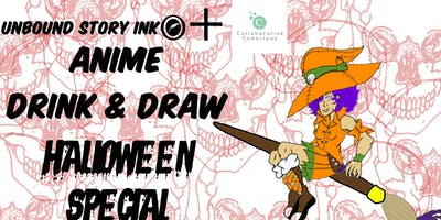Anime Drink & Draw + Social Mixer Halloween Special