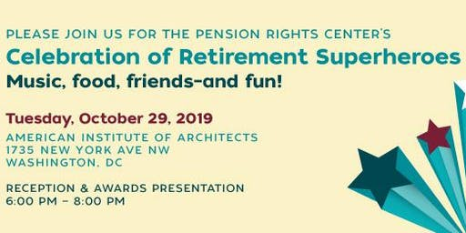 Pension Rights Center's Celebration of Superheroes Event