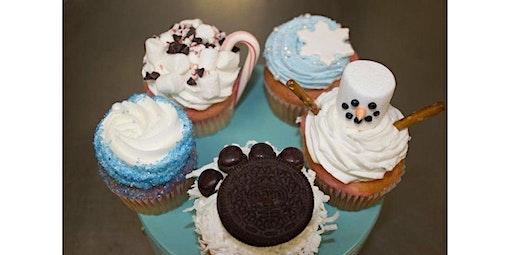 Kid's Class- Winter Cupcake Decorating (01-25-2020 starts at 1:00 PM)