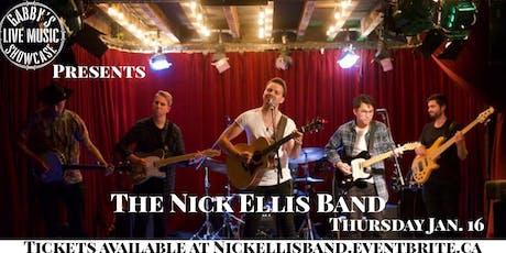 The Nick Ellis Band - Gabby's Live Music Showcase tickets