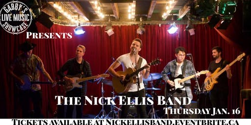 The Nick Ellis Band - Gabby's Live Music Showcase