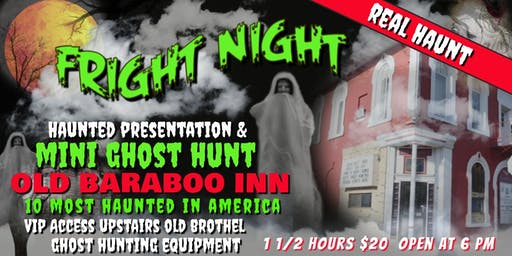 FRIGHT NIGHT in a REAL HAUNT! Mini Ghost Hunt in an Old Saloon Bar