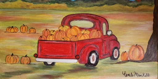 Paint Class - Fall Fun