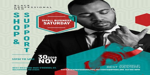 The 1st Annual Shop & Support Small Business Saturday Expo