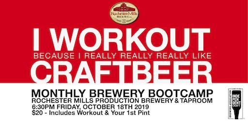 Brewery Bootcamp – October 18, 2019