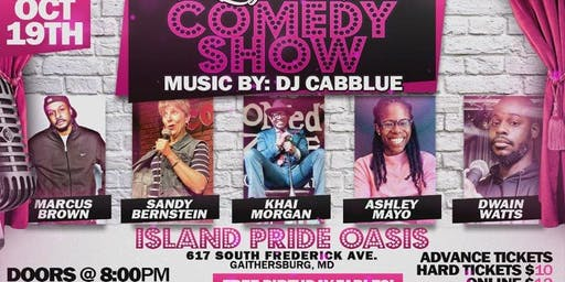 (BWMEG) presents Laugh Til It Hurts Comedy Show and Music By: DJ Cabblue!