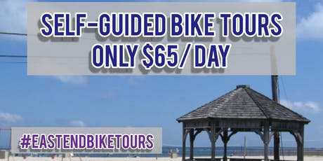 Self Guided Bike Tour with Route Planner and a map in Long Island (NY) - $65 a day tickets