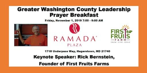 Greater Washington County Leadership Prayer Breakfast