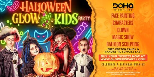 Halloween Glow Kids Party